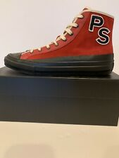 PS Paul Smith Kit Red Suede Sneakers BNIB US 11