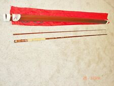 FENWICK FIBERGLASS FLY ROD IN TUBE & BAG MDL FF858 8FT 6 INCHES LONG 8 WEIGHT