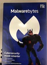 Malwarebytes Anti-Malware Premium 3.0 2017  3 PCs NEW!