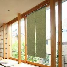 Noren Japanese hanging door curtain Matcha green 85*150cm Wa japanese Style