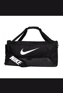 Nike Duffle Bag Gym Training  Black BA4828-001 Size L Capacity 6287 CU IN New