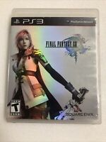 Final Fantasy XIII (Sony PlayStation 3, 2010) PS3 Black Label/No Manual