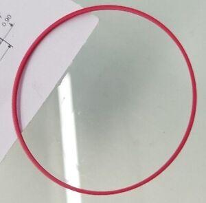 Uhren Dichtung Dichtring Uhrendeckel O Ring Sanfil f Omega Tissot TCM 34 mm ROT