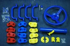 Swing Accessories kit, steering wheel, 4 handles, telescope, 12 climbing rocks
