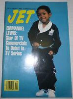 Jet Magazine Emmanuel Lewis August 1983 Digest Size 091012R