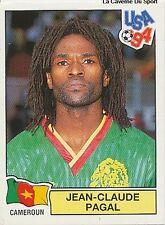 N°100 PAGAL CAMEROUN CAMEROON PANINI WORLD CUP 1994 STICKER VIGNETTE 94