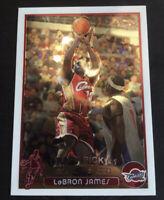 2003-2004 Topps Chrome LeBron James Cleveland Cavaliers #111 2020 NBA Champions!
