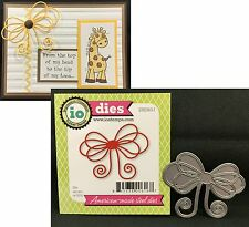 Large Bow metal Die Impression Obsession Cutting Dies DIE063-I Ribbon,Holidays