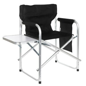 Alu-Regiestuhl Campingstuhl mit Klapptisch Klappstuhl Angelstuhl Faltstuhl Stuhl