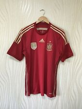SPAIN 2014 HOME FOOTBALL SHIRT SOCCER JERSEY ADIDAS G85279