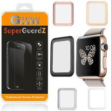 Tempered Glass FULL COVER Screen Protector Guard For Apple Watch Series 3 42 mm