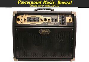Peavey Ecoustic E110 Acoustic Guitar Amplifier 100 Watts + Mic Input