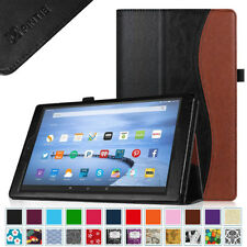 For Amazon Kindle Fire HD 10 2015 Model 5th Gen 10-inch Folio Leather Case Cover