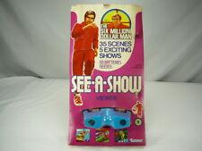 Kenner Six Million Dollar Man Bionic Man 6MDM See A Show Viewer 1975 Rare MINT