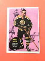 Murray Oliver 1961-62 Topps #14  Vintage Hockey Card