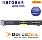 NETGEAR JGS516PE ProSAFE Gigabit Unmanaged Plus 16-port with 8-port PoE