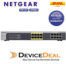 NETGEAR JGS516PE ProSAFE Gigabit Unmanaged Plus 16-port with 8-port PoE