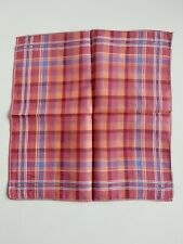 Vintage Ladies Plaid Hankie