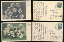 Zwischenkriegszeit (1918-39) Kleinformat Ansichtskarten Glückwünsche