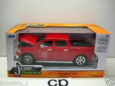 JADA JUST TRUCKS 2014 DODGE RAM 1500 1:24 RED