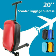 """20"""" Travel Luggage Spinner Scooter Suitcase Skateboard Trolley Case 4 Colors"""