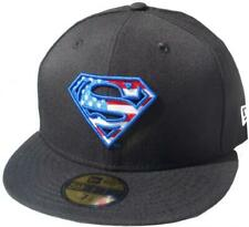 New Era Superman Black Stars an Stripes 59fifty Fitted Cap Limited Edition