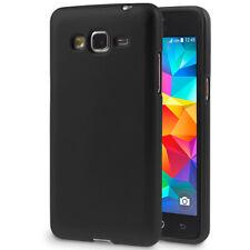 Dun TPU Hoesje voor Samsung Galaxy Grand Prime Bescherming Mat Silicone Zwarte