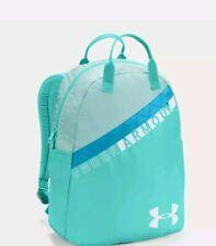 "Under Armour Girls Favorite Backpack 3.0 Aqua Light GREEN Storm 15"" LAPTOP New"