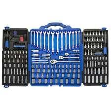 Kobalt 200-Piece Mechanic's Tool Set Standard (SAE) and Metric Polished Chrome