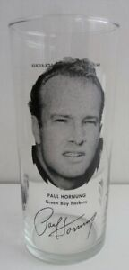 1970 Paul Hornung Green Bay Packers GLASS MSA FLASH SALE