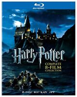 Harry Potter: The Complete 8-Film Collection [Blu-ray]