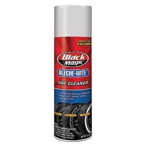 Black Magic Bleche White Tire Cleaner Aerosol 15oz .