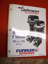 1995 JOHNSON/EVINRUDE  EO 85 THRU 115 90 CV OUTBOARDS FACTORY SERVICE MANUAL