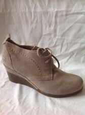 Marco Tozzi Brown Ankle Suede Boots Size 38