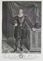 Frans Pourbus II (1569-1622); François Hubert - Portrait of Henri IV - 1789
