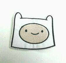 Adventure Time Finn head Embroidered Iron On/Sew On Patch