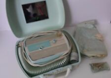 Vintage Universal Portable Hair Dryer with Bonnet in Mint green
