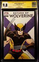 MARVEL Comics RETURN OF WOLVERINE #1 CGC SS 9.8 Original Sketch X-MEN DEADPOOL