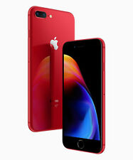 """New Apple iPhone 8 Plus RED- 64GB- Factory Unlocked- 5.5"""" 12MP GSM Smartphone"""
