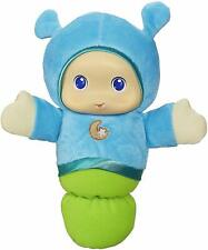 Nursery Musical Lullaby Glow Worm Soft Plush Toddler Kids Interactive Toys Blue