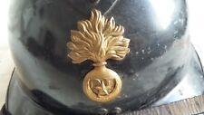 Casque Adrian AFN Garde Républicaine Mobile Gendarmerie Afrique du Nord ORIGINAL