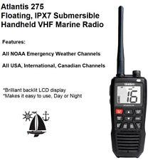 Uniden Atlantis 275 Floating-Submersible Vhf Marine Radio Usa And International