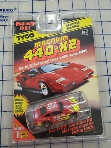 TYCO 440-X2 9178 Porsche Carrera RTR HO Car from Mid America