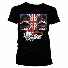 Officially Licensed Beatles - A Hard Days Night Women's T-Shirt S-XXL Sizes