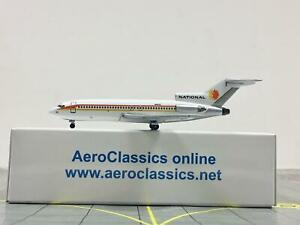 "RARE AeroClassics 1:400 National Airlines Boeing 727-100 N4622 ""1960s Colors"""