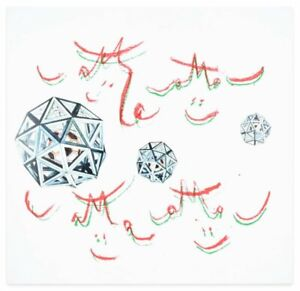 """Roberto Matta - """"Music Foot"""" - eight lithograph's in a white box with collage"""
