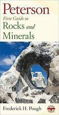 Peterson First Guide to Rocks and Minerals-ExLibrary