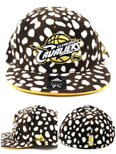 Cleveland Cavaliers Nuevas Adidas Dálmatas Marrón Blanco G Sombrero gorra ajustada era 7 3/4