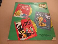 "GOLDEN RECORD 3 IN 1 "" SLEEPING BEAUTY / GULLIVER / UGLY DUCKLING "" 7"" SINGLE VG"