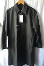 Uniqlo U Lemaire Blocktech Single Breast Coat Wind Water Repellent GREEN XS NWT